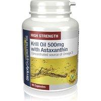 Krill oil 500mg astaxanthin