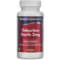 Odourless garlic 2mg