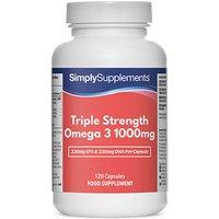 Omega 3 triple strength 1000mg