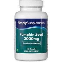 Pumpkin seed 2000mg