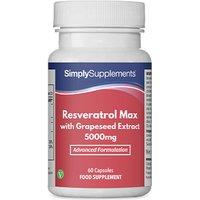 Resveratrol Max 5000mg (60 Capsules)