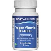 Vegan D3 400iu (120 Tablets)