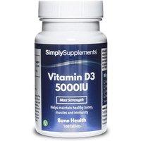 Vitamin D3 5000iu (360 Tablets)