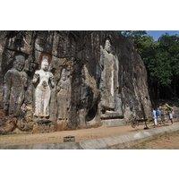 Yala to Ella via BUDURUWAGALA Rock Temple