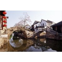 Suzhou Private Tour with Tiger Hill, Shantang Street and Zhouzhuang Water Town