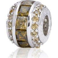 Exklusiver Silberbead: 925 Silber Bead Zirkonia
