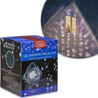 Christow Falling Snow Christmas Light Projector