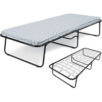 Folding Single Guest Bed with Mattress