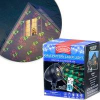 Christow Christmas Pattern Laser Light Projector