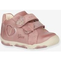 New Balu Girl C Mid Trainers for Baby Girls, by GEOX® pink dark solid with design