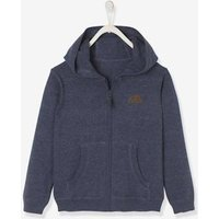 Hooded Jacket for Boys dark red