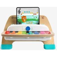Magic Touch Piano, HAPE beige medium solid with decor.