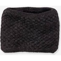 Fancy Knit Snood, for Boys grey dark mixed color