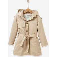 Girls trench coat beige