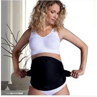 Maternity Overbelly Support Belt, by CARRIWELL black dark solid.