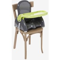 VERTBAUDET Progressive Booster Seat grey dark solid with design