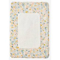 Changing Mat for Baby Doll white light solid with design