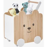 VERTBAUDET Box on Casters, Bear white light two color/multicol Storage Chests