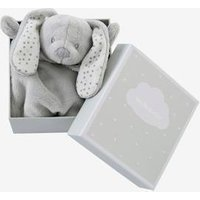 VERTBAUDET Bunny Blanket Soft Toy with Gift Box grey