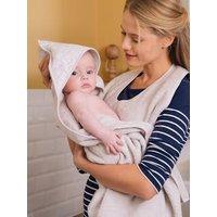 Apron Baby Bath Cape for Parent/Baby light grey