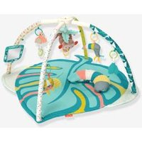 Tropical Go Gaga Activity Mat by Infantino blue bright all over printed
