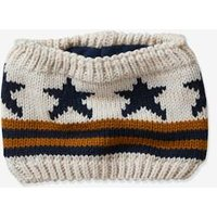 Flag Snood for Boys beige light mixed color