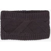 Cable-Knit Snood for Boys grey dark mixed color