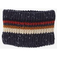 Striped Snood with Polar Fleece Lining for Boys blue dark two color/multicol