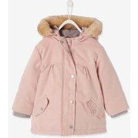 3-in-1 Parka for Baby Girls light pink