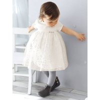 Baby Girls' Silvery Tulle Dress pink light all over printed