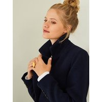 Progressive 3-in-1 Cardigan, for Maternity and Post-Maternity blue dark solid