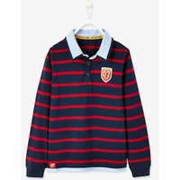 Harry Potter ® Striped Polo Shirt with 2-in-1 Effect for Boys blue dark striped.