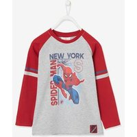 Spider-Man ® Long Sleeve Top with Stripes for Boys grey light mixed color.