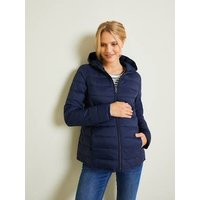 Lightweight Padded Jacket, Adaptable for Maternity and Post-Maternity blue dark solid