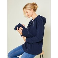 Adaptable Jacket, Maternity and Post-Maternity blue dark solid