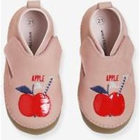 Soft Leather Shoes for Baby Girls light pink
