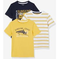 Pack of 2 Assorted T-Shirts for Boys orange/multi