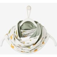 Reversible Snood for Baby Boys white light all over printed