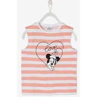 Minnie Mouse ® T-Shirt by Disney, Shoulder Pads, for Girls light pink stripes.