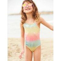 Mermaid Swimsuit for Girls light pink.