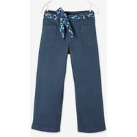 7/8 Wide Trousers for Girls grey