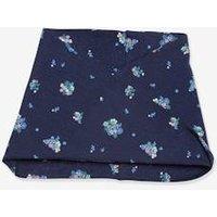 Oeko Tex® Printed Crossover Snood for Girls dark blue/print