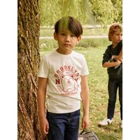 T-Shirt with Animal Motif for Boys green.
