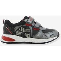 Boys' Light-Up Trainers, Star Wars ® Theme black medium solid with design