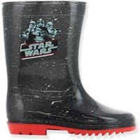 Boys' Wellies, Star Wars ® Theme black dark all over printed