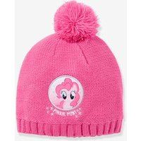 Girls' My Little Pony ® Beanie with Pompoms purple medium solid with desig