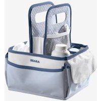 Basket for Baby Care Products, by BEABA blue light solid
