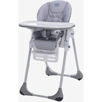 Polly Easy High Chair, by CHICCO grey medium striped