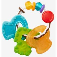 Blue Box Teething Ring white light solid