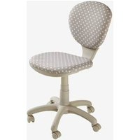 Swivel Chair, with Stars grey